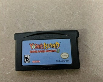 Super Mario Advance 3 Yoshi Island Game boy advance