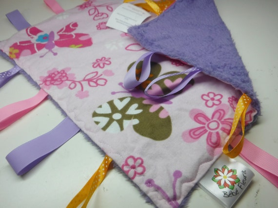 little baby tags blanket