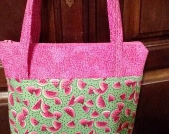 Adorable Little girl's watermelon purse