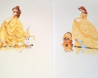 """Disney """"Belle"""" mini chest"""