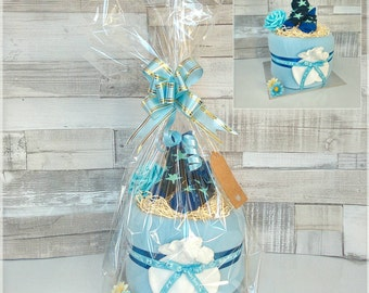 New baby boy gift Nappy Cake Baby Shower New Baby Maternity leave Gift