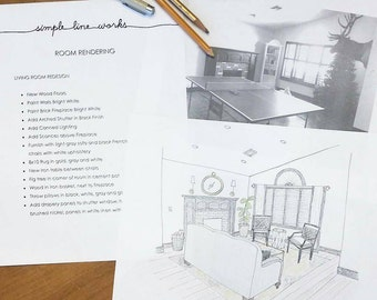 Room Rendering - Interior Design Basic Package
