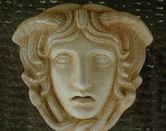 For Sale Medusa Miniature Mask - Ancient Greece - Gorgon Medousa