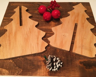 3d Tree Puzzle Unfinished (xmas decor, christmas decor, tree decor, puzzle)