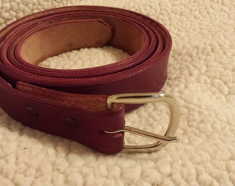 1 1/4 inch Wide Medieval Leather Belt