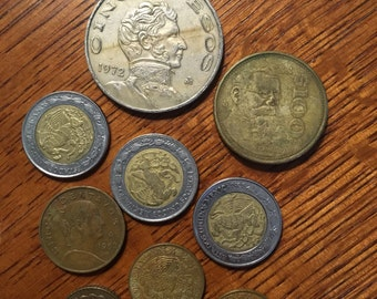 Group of Mexican Coins