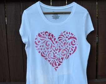 Love, love, love - The Tee shirt for the Woman who shows her Love