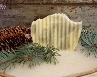Handmade Pine Soap, all natural, vegan, handcrafted, palm free