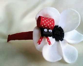 Ladybug Headband an original cheeky design