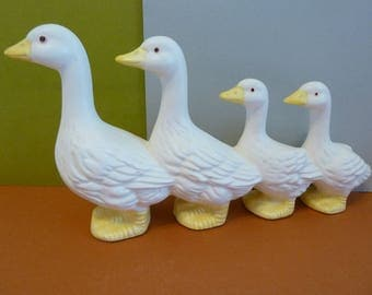 Are your Ducks In A Row? Figurine, Unmarked
