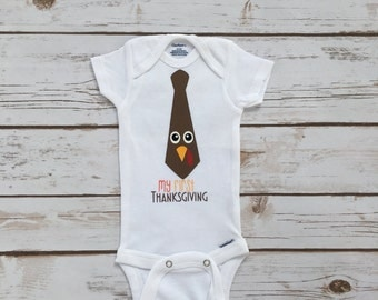 Thanksgiving Outfit- Boys Thanksgiving- First Thanksgiving Outfit