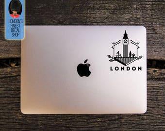 City of London Big Ben Macbook / Laptop Vinyl Decal