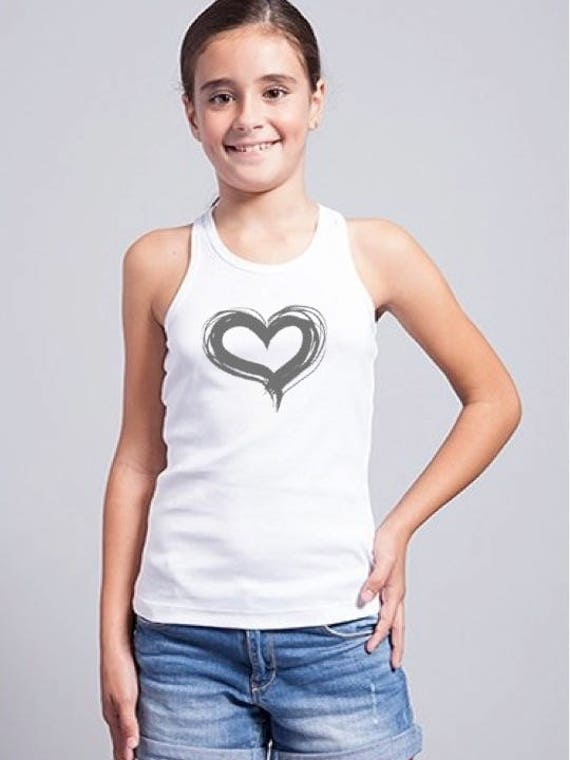 Girl t-shirt HEART