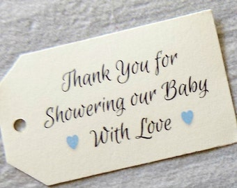 Baby Boy Shower Favor Tags, Favor Tags, Baby Shower Favor Tags, Thank You Tags, Kraft Tags, Baby Party, Baptism Favors, Thank You Tags