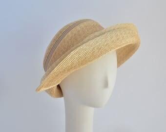 714- Straw Papillon Sun Hat