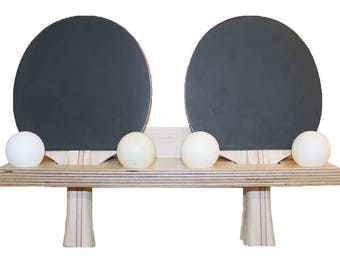 Ping Pong paddle holder!