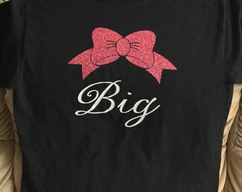 Sorority Shirts - Big Shirts -Little Shirts - Big Little Sorority Shirts  - Bow T-Shirts - T-Shirts - Vinyl Shirts