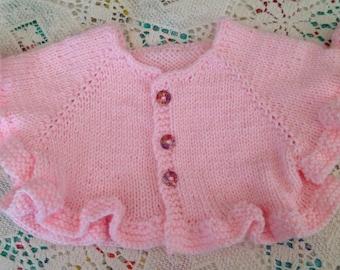Pink Ballet Shrug For Toddler