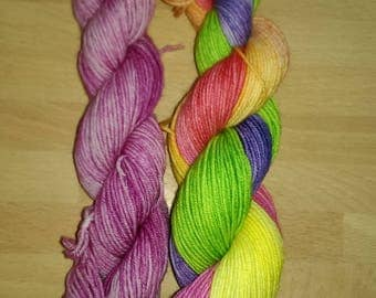 Wildflowers Sock Yarn Set