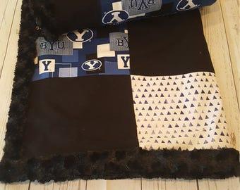 BYU Minky Blanket