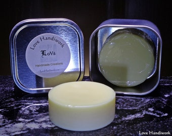 Lotion Bar   Unscented Beeswax - All Natural Handmade