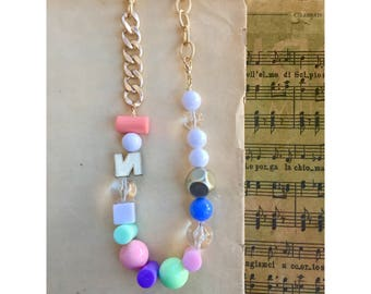 Amazing and colorful necklace!