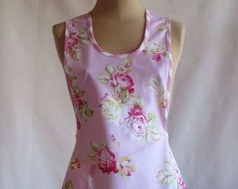 On Sale Vintage Style 1940s Floral Apron