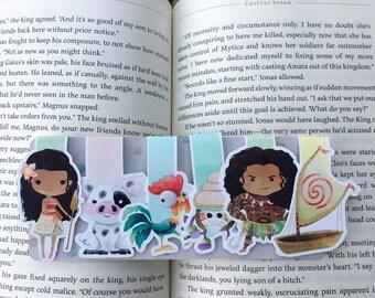 Polynesian Princess Bookmarks