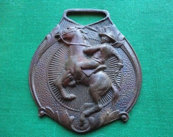 Bucking Bronco Rider Key Fob