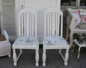 Art Nouveau Chair white