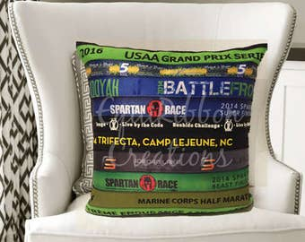 Marathon Race Pillow - Cheerleading Pillow - Marathon Award - Cheerleading Award - Cheerleading - Marathon - Athlete