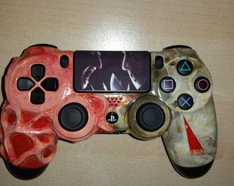 Custom Freddy Vs Jason - Friday The 13th - Nightmare On Elm st - PS4 controller