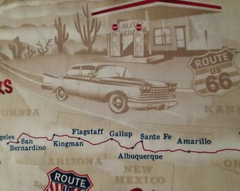 Route 66 #C5414 Timeless Treasures