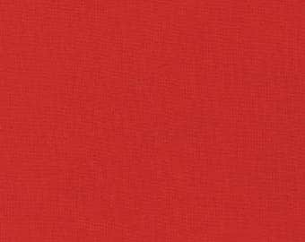Lipstick, Red Fabric, Kona Cotton Solids, Red Solid Fabric, Solid Fabrics, Kona by Robert Kaufman, 1194