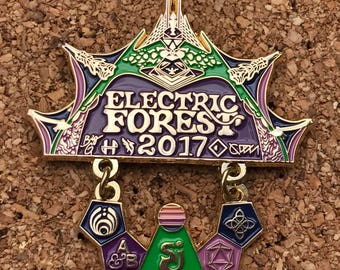 Electric Forest Gate to the Forest V3 Weekend 1 Edition *Free Shipping*