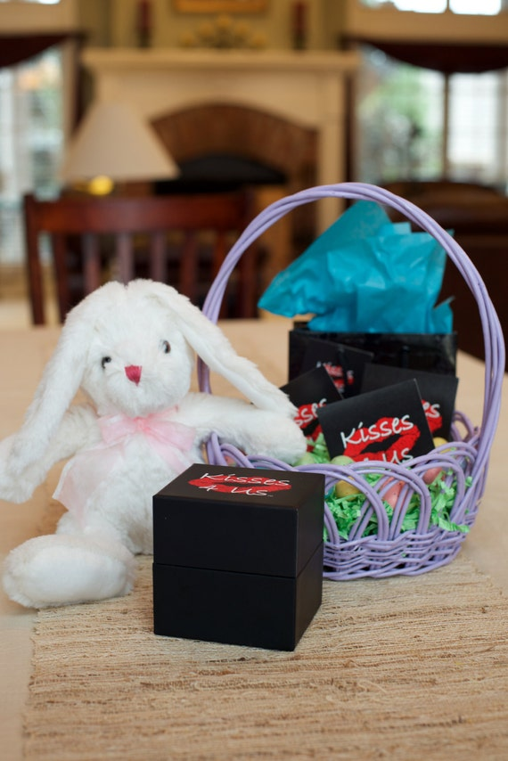 Kisses 4 ussome bunny love you easter gift for him easter like this item negle Images
