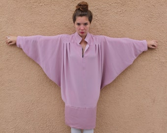 Sale Vintage 80's/90's Daymor Couture Bat Wing Sleeve Dress
