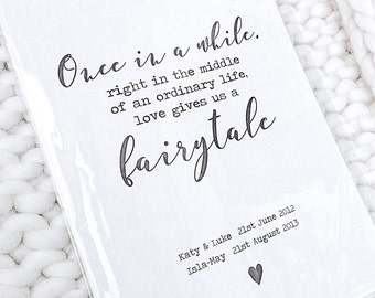 Personalised Love gives us a fairytale print