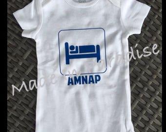 AMNAP Onesie