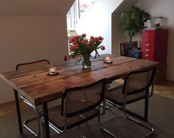 Table made of planks