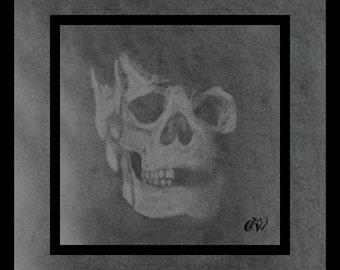 Dark and Broken Skull