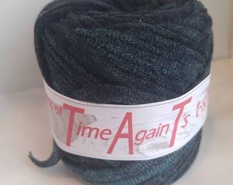 32 yards Ocean Storm Aqua t-shirt zpagetti yarn