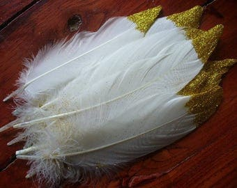 1 George feather gold