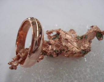 6mm Copper Healing Ring - A Sunshine and Energizer in Your Life