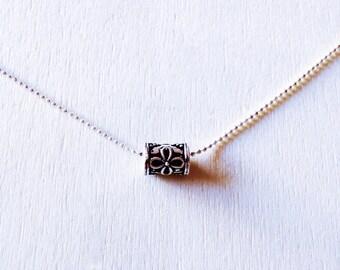Bali Silver Necklace • Bali Necklace • Minimal Necklace Boho • necklace • For her • Minimalist • Tribal necklace jewelry