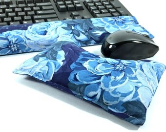 Ergonomic Computer Wrist Rest Set, Keyboard and Mouse Wrist pad, Computer Accessory, Tech Accessory, Rice bag, Office Desk decor, SHIPS FREE