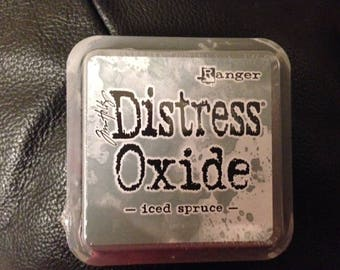 Tim Holtz Distress Oxide Ink Pad - Iced Spruce - Brand New