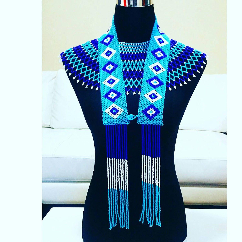 Xhosa traditional Groom necklace