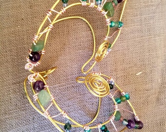 Jeweled Elf ear cuffs
