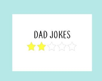 Funny Fathers Day Card | Fathers Day Gift, Gifts for Dad, Dad Gift, Dad Birthday Card, New Dad Card, Dad Jokes, Funny Greeting Cards